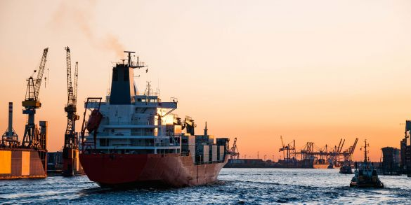 Trasporto via mare febbraio 2021
