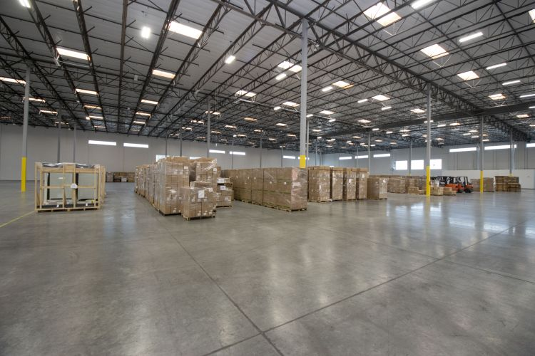 Our new warehouse in the West Coast