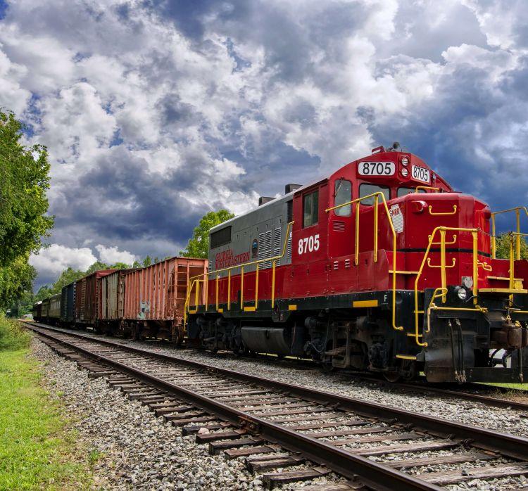 rail freight august 2021